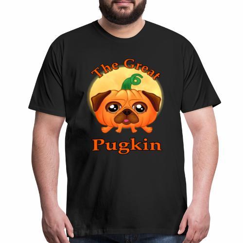 The Great Pugkin Halloween T-Shirt - Pug Shirt - Men's Premium T-Shirt