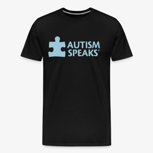 Autism speaks....dont listen. - Men's Premium T-Shirt