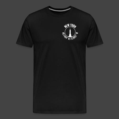 New York Coords - Men's Premium T-Shirt