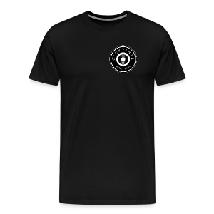 CLUBvinyl RECORDwhite - Men's Premium T-Shirt