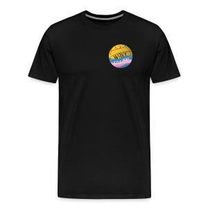 Wavy Water Polo - Men's Premium T-Shirt