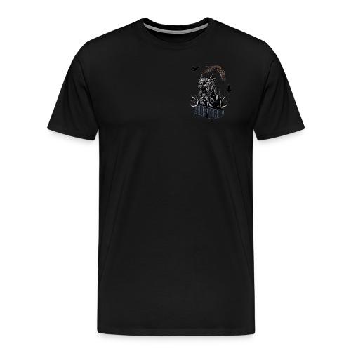 Black dog - Men's Premium T-Shirt