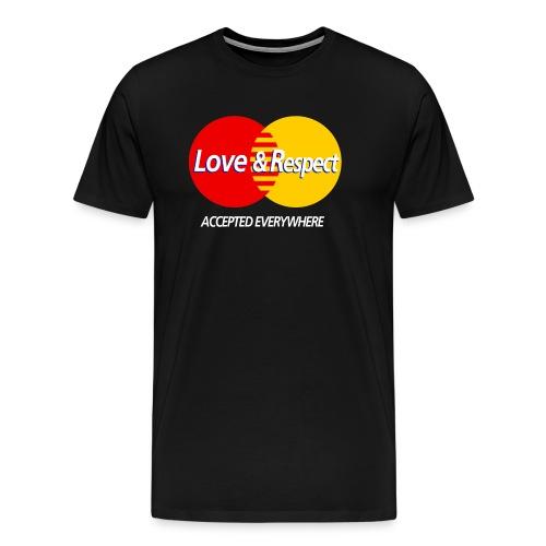Love and Respect - Men's Premium T-Shirt