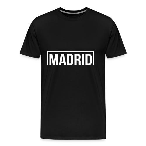 Goal Madrid White - Men's Premium T-Shirt