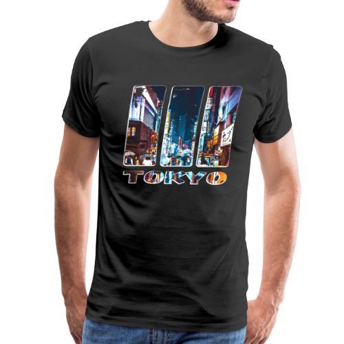 Tokyo Japan Nightlife - Men's Premium T-Shirt