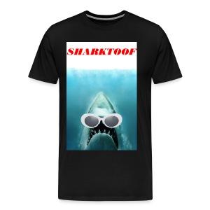 SHARKTOOF SHARK WITH CLOUT - Men's Premium T-Shirt