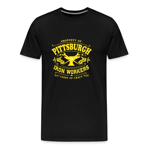 Pittsburgh Iron Workers - Men's Premium T-Shirt