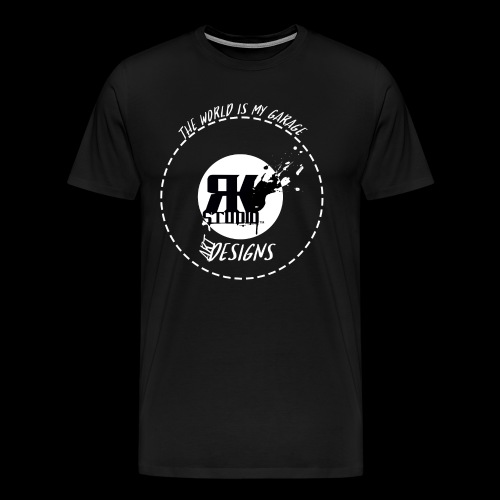The World is My Garage - Men's Premium T-Shirt