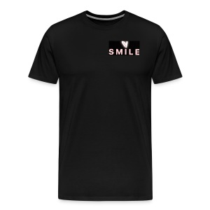 Happiness smile love bright cool good soft merch : - Men's Premium T-Shirt