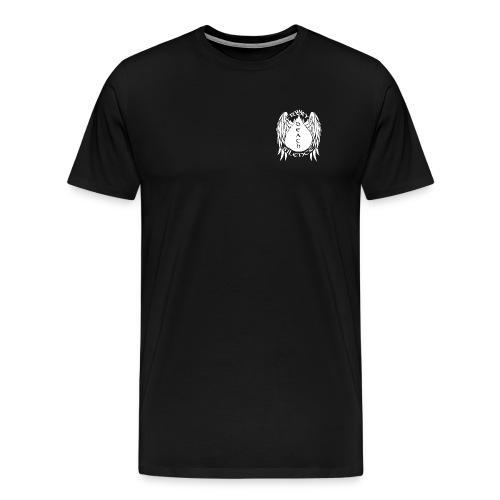 FDTS LOGO White - Men's Premium T-Shirt