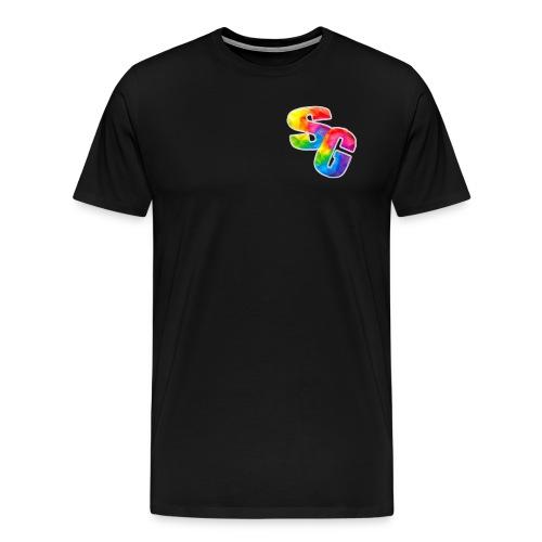 ShortyGamez Rainbow LOGO - Men's Premium T-Shirt