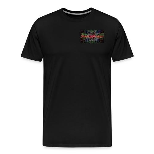 X-tremeKneon logo (YouTuber) - Men's Premium T-Shirt