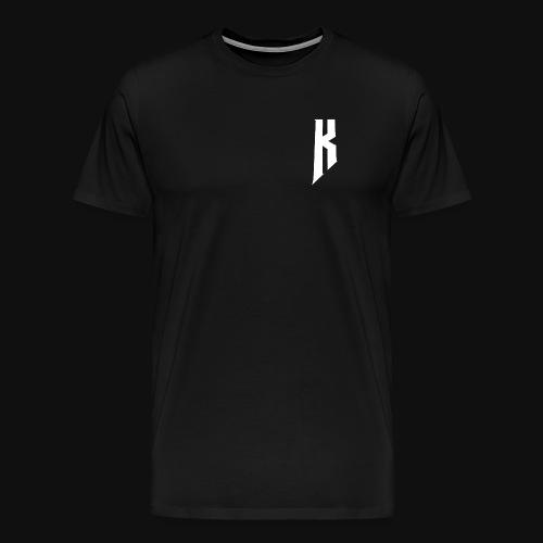 Knight White Logo - Men's Premium T-Shirt