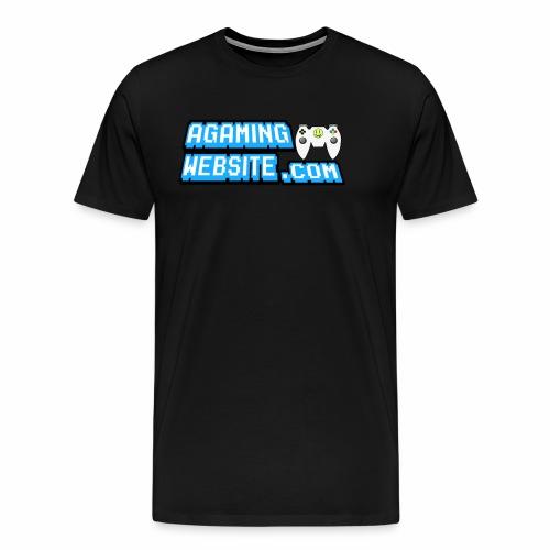AGamingWebsite.com Logo Design - Men's Premium T-Shirt