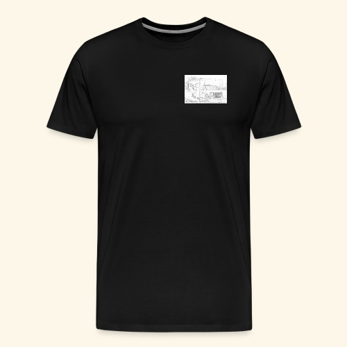 A ClassC Space - Men's Premium T-Shirt