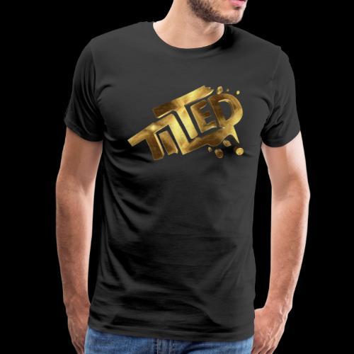 Tilted Gamer Gold - Men's Premium T-Shirt