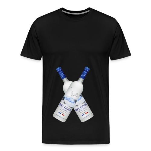 Vodka_kryds - Men's Premium T-Shirt