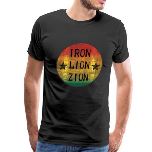iron-lion-zion - Men's Premium T-Shirt