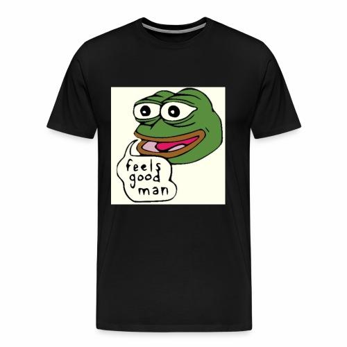 Feels good man, Pepe the frog - Men's Premium T-Shirt