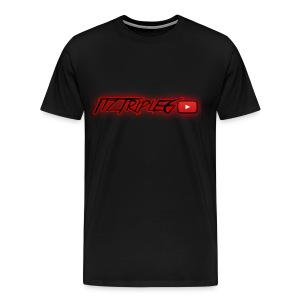 RED GLOW LOGO (FOR SHIRTS and ACCESSORIES) - Men's Premium T-Shirt