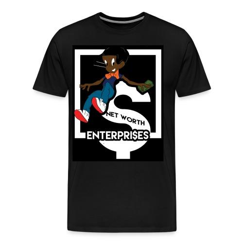 blk richie rich - Men's Premium T-Shirt