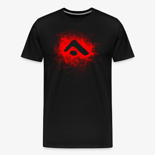 Alterian Splatter Logo - Men's Premium T-Shirt