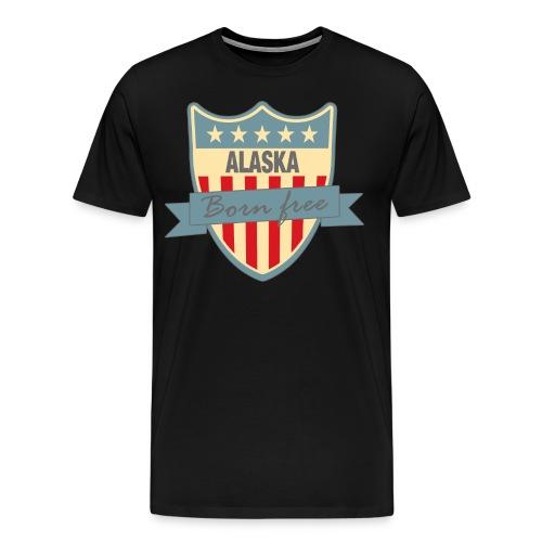 Alaska Born Free Ramirez - Men's Premium T-Shirt