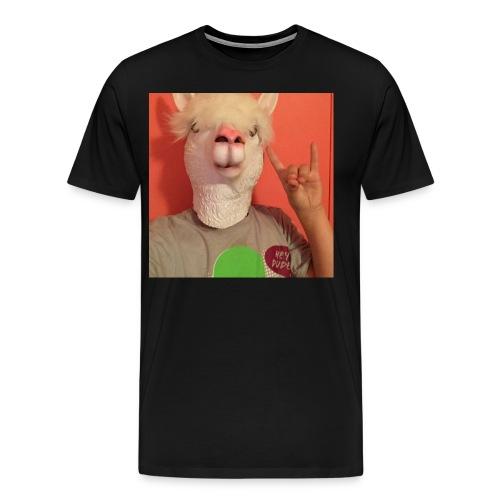 Look What You Llama Do - Men's Premium T-Shirt