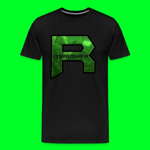 ItsRusher 2018 Logo - Men's Premium T-Shirt