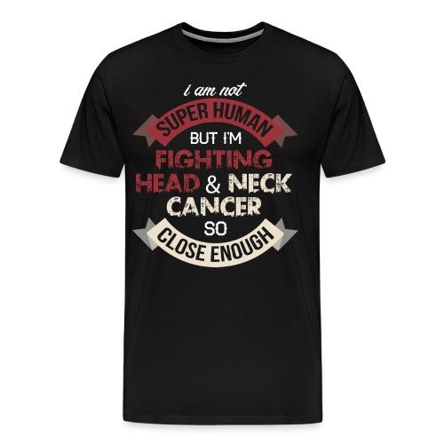 Head Neck Cancer Awareness - Men's Premium T-Shirt