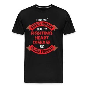 Heart Disease Awareness - Men's Premium T-Shirt