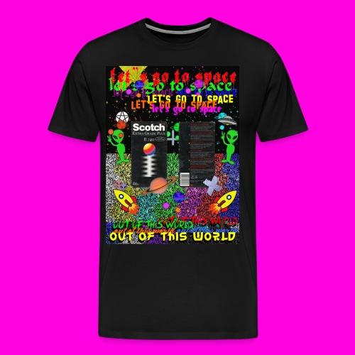 LET'S GO TO SPACE - Men's Premium T-Shirt