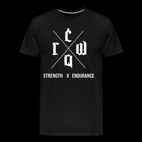 Strength X Endurance - Men's Premium T-Shirt