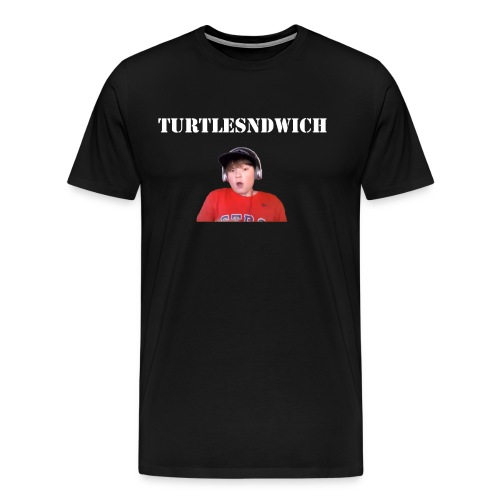 TurtleSndwich Design 1 - Men's Premium T-Shirt