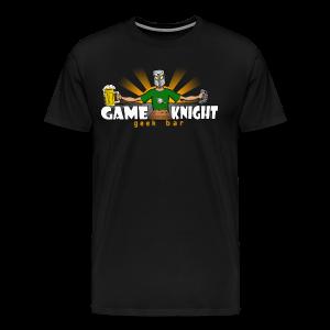 Game Knight Geek Bar Logo - Men's Premium T-Shirt