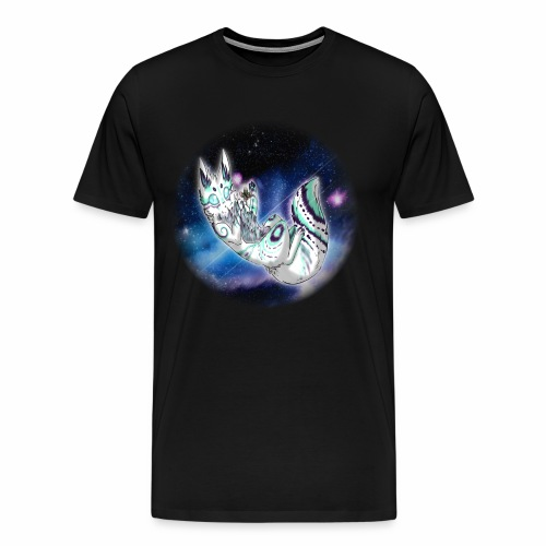 Moki Space Cat - Men's Premium T-Shirt