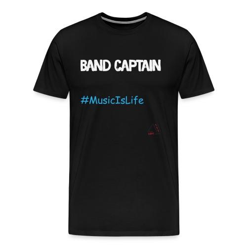 band captain (white) - Men's Premium T-Shirt