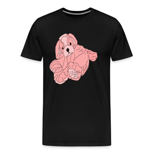 Soft Pink Puppy - Men's Premium T-Shirt