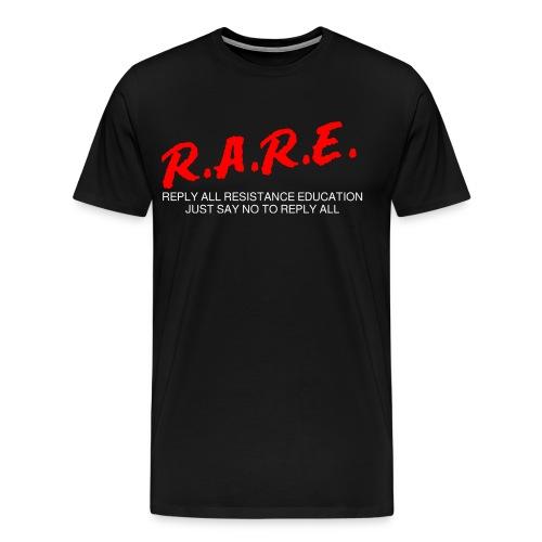 R.A.R.E - Reply All Resistance Education - Men's Premium T-Shirt