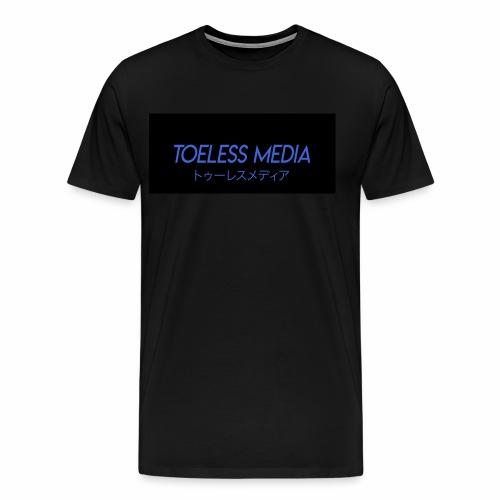 Toeless Media Japanese - Men's Premium T-Shirt