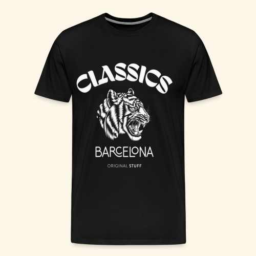tiger classic barcelona original stuff - Men's Premium T-Shirt