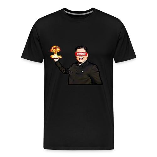 bomb man kim jong un - Men's Premium T-Shirt
