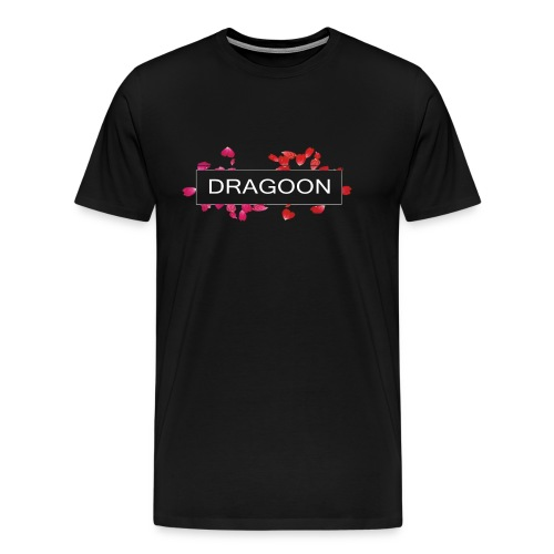 Dragoon Rose Logo - Men's Premium T-Shirt
