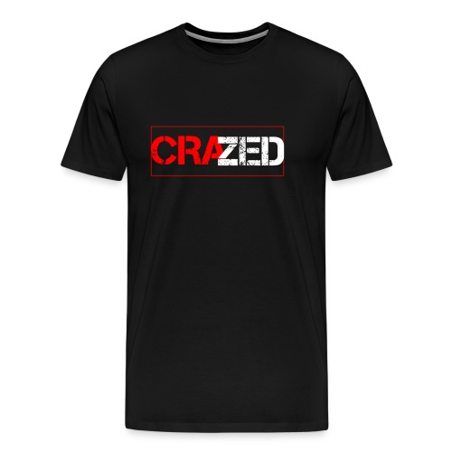Crazed Logo - Men's Premium T-Shirt