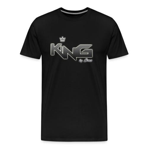 king logo v4 - Men's Premium T-Shirt