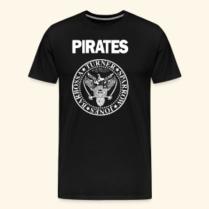 Punk Rock Pirates [heroes] - Men's Premium T-Shirt
