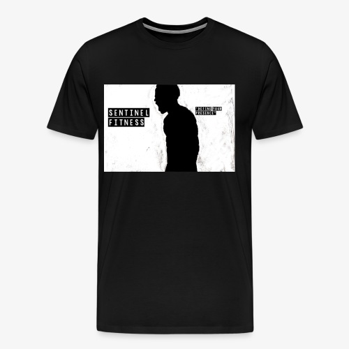 Sentinel Fitness Logo Apparel - Men's Premium T-Shirt