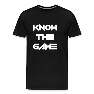 Know the Game - Men's Premium T-Shirt
