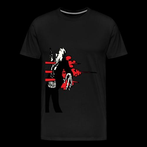 Who Shot the Groom? - Men's Premium T-Shirt