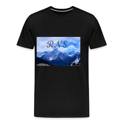RNS in the clouds - Men's Premium T-Shirt